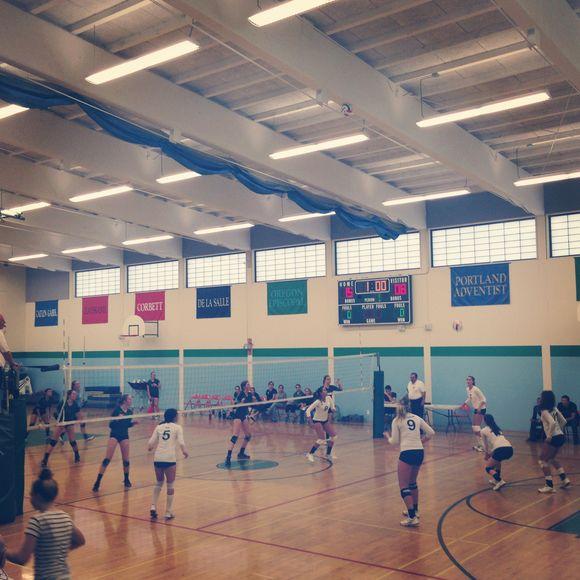 Volleyball season ...