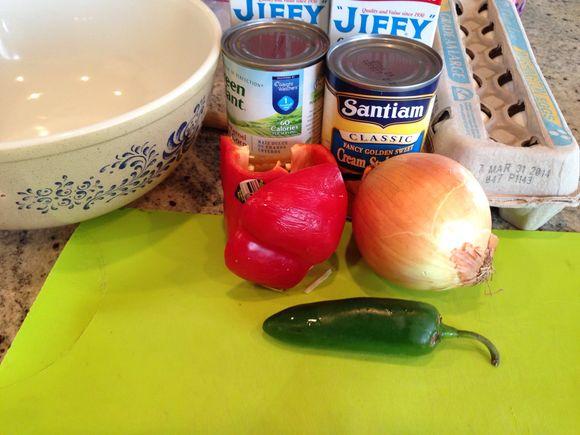 Mexican cornbread...